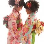 大阪の七五三写真撮影スタジオ・ハニーアンドクランチの7歳女の子和装のフォトギャラリーB204