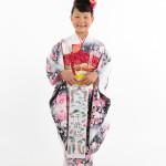 大阪の七五三写真撮影スタジオ・ハニーアンドクランチの7歳女の子和装のフォトギャラリーB214
