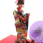 大阪の七五三写真撮影スタジオ・ハニーアンドクランチの7歳女の子和装のフォトギャラリーB216