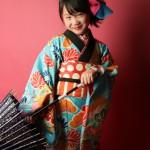 大阪の七五三写真撮影スタジオ・ハニーアンドクランチの7歳女の子和装のフォトギャラリーB218
