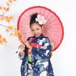 大阪の七五三写真撮影スタジオ・ハニーアンドクランチの7歳女の子和装のフォトギャラリーB220