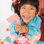 大阪の七五三写真撮影スタジオ・ハニーアンドクランチの7歳女の子和装のフォトギャラリーB221