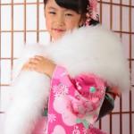 大阪の七五三写真撮影スタジオ・ハニーアンドクランチの7歳女の子和装のフォトギャラリーB226