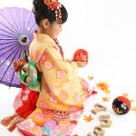 大阪の七五三写真撮影スタジオ・ハニーアンドクランチの7歳女の子和装のフォトギャラリーB228