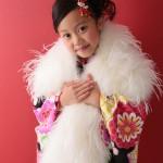 大阪の七五三写真撮影スタジオ・ハニーアンドクランチの7歳女の子和装のフォトギャラリーB232