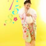 大阪の七五三写真撮影スタジオ・ハニーアンドクランチの7歳女の子和装のフォトギャラリーB236
