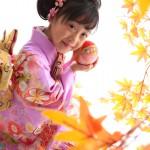 大阪の七五三写真撮影スタジオ・ハニーアンドクランチの7歳女の子和装のフォトギャラリーB241