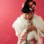 大阪の七五三写真撮影スタジオ・ハニーアンドクランチの7歳女の子和装のフォトギャラリーB242