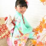 大阪の七五三写真撮影スタジオ・ハニーアンドクランチの7歳女の子和装のフォトギャラリーB244