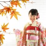 大阪の七五三写真撮影スタジオ・ハニーアンドクランチの7歳女の子和装のフォトギャラリーB245