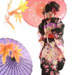 大阪の七五三写真撮影スタジオ・ハニーアンドクランチの7歳女の子和装のフォトギャラリーB249