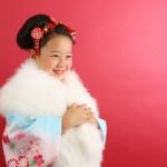 大阪の七五三写真撮影スタジオ・ハニーアンドクランチの7歳女の子和装のフォトギャラリーB251