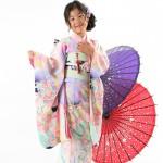 大阪の七五三写真撮影スタジオ・ハニーアンドクランチの7歳女の子和装のフォトギャラリーB252