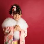 大阪の七五三写真撮影スタジオ・ハニーアンドクランチの7歳女の子和装のフォトギャラリーB253