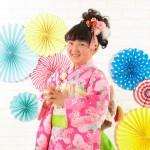 大阪の七五三写真撮影スタジオ・ハニーアンドクランチの7歳女の子和装のフォトギャラリーB255