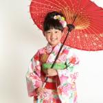 大阪の七五三写真撮影スタジオ・ハニーアンドクランチの7歳女の子和装のフォトギャラリーB256