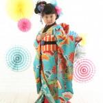大阪の七五三写真撮影スタジオ・ハニーアンドクランチの7歳女の子和装のフォトギャラリーB257