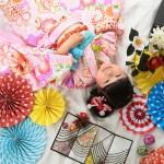 大阪の七五三写真撮影スタジオ・ハニーアンドクランチの7歳女の子和装のフォトギャラリーB258