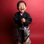 大阪の七五三写真撮影スタジオ・ハニーアンドクランチの男の子の和装のフォトギャラリーC001