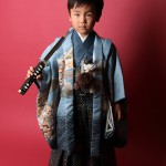 大阪の七五三写真撮影スタジオ・ハニーアンドクランチの男の子の和装のフォトギャラリーC004