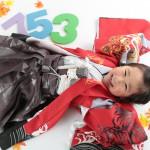 大阪の七五三写真撮影スタジオ・ハニーアンドクランチの男の子の和装のフォトギャラリーC006