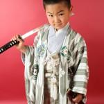 大阪の七五三写真撮影スタジオ・ハニーアンドクランチの男の子の和装のフォトギャラリーC007