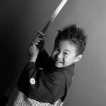 大阪の七五三写真撮影スタジオ・ハニーアンドクランチの男の子の和装のフォトギャラリーC008