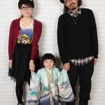 大阪の七五三写真撮影スタジオ・ハニーアンドクランチの男の子の和装のフォトギャラリーC009