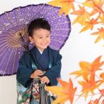 大阪の七五三写真撮影スタジオ・ハニーアンドクランチの男の子の和装のフォトギャラリーC010