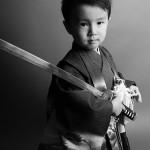 大阪の七五三写真撮影スタジオ・ハニーアンドクランチの男の子の和装のフォトギャラリーC011