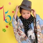大阪の七五三写真撮影スタジオ・ハニーアンドクランチの男の子の和装のフォトギャラリーC012