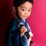 大阪の七五三写真撮影スタジオ・ハニーアンドクランチの男の子の和装のフォトギャラリーC015