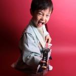 大阪の七五三写真撮影スタジオ・ハニーアンドクランチの男の子の和装のフォトギャラリーC018