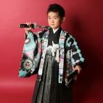 大阪の七五三写真撮影スタジオ・ハニーアンドクランチの男の子の和装のフォトギャラリーC022