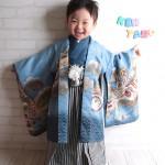 大阪の七五三写真撮影スタジオ・ハニーアンドクランチの男の子の和装のフォトギャラリーC025