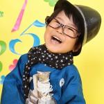 大阪の七五三写真撮影スタジオ・ハニーアンドクランチの男の子の和装のフォトギャラリーC026
