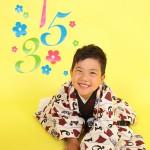 大阪の七五三写真撮影スタジオ・ハニーアンドクランチの男の子の和装のフォトギャラリーC027