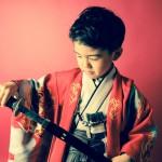 大阪の七五三写真撮影スタジオ・ハニーアンドクランチの男の子の和装のフォトギャラリーC029