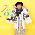 大阪の七五三写真撮影スタジオ・ハニーアンドクランチの男の子の和装のフォトギャラリーC032