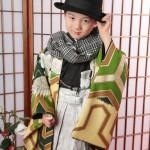 大阪の七五三写真撮影スタジオ・ハニーアンドクランチの男の子の和装のフォトギャラリーC033