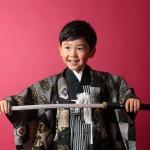 大阪の七五三写真撮影スタジオ・ハニーアンドクランチの男の子の和装のフォトギャラリーC034