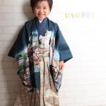 大阪の七五三写真撮影スタジオ・ハニーアンドクランチの男の子の和装のフォトギャラリーC036