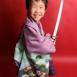 大阪の七五三写真撮影スタジオ・ハニーアンドクランチの男の子の和装のフォトギャラリーC040