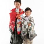 大阪の七五三写真撮影スタジオ・ハニーアンドクランチの男の子の和装のフォトギャラリーC041