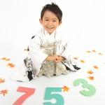 大阪の七五三写真撮影スタジオ・ハニーアンドクランチの男の子の和装のフォトギャラリーC042