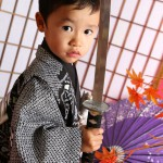 大阪の七五三写真撮影スタジオ・ハニーアンドクランチの男の子の和装のフォトギャラリーC048