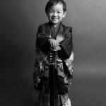 大阪の七五三写真撮影スタジオ・ハニーアンドクランチの男の子の和装のフォトギャラリーC049