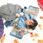 大阪の七五三写真撮影スタジオ・ハニーアンドクランチの男の子の和装のフォトギャラリーC050