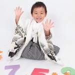 大阪の七五三写真撮影スタジオ・ハニーアンドクランチの男の子の和装のフォトギャラリーC052