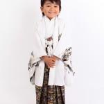 大阪の七五三写真撮影スタジオ・ハニーアンドクランチの男の子の和装のフォトギャラリーC053
